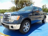 2014 Blue Jeans Ford F150 Lariat SuperCrew #94552982