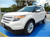 2014 White Platinum Ford Explorer Limited #94552981