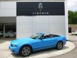 2011 Grabber Blue Ford Mustang V6 Premium Convertible #94553078