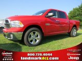 2014 Flame Red Ram 1500 Big Horn Crew Cab #94553067