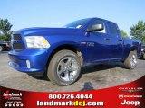 2014 Blue Streak Pearl Coat Ram 1500 Express Quad Cab #94553066