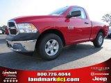 2014 Flame Red Ram 1500 Tradesman Regular Cab #94553064