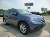 2012 Twilight Blue Metallic Honda CR-V EX-L 4WD #94553286