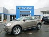 2010 Mocha Steel Metallic Chevrolet Equinox LS #94592164