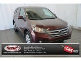 2014 Basque Red Pearl II Honda CR-V EX AWD #94591979