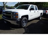 2014 Summit White Chevrolet Silverado 1500 WT Double Cab 4x4 #94638925