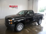 2014 Black Chevrolet Silverado 1500 WT Regular Cab #94639474