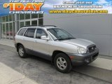 2003 Pewter Hyundai Santa Fe LX 4WD #94638960
