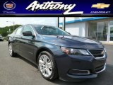 2014 Blue Ray Metallic Chevrolet Impala LS #94639446