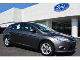 2014 Sterling Gray Ford Focus SE Hatchback #94639123