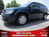 2014 Fathom Blue Pearl Dodge Journey Amercian Value Package #94639103