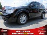 2014 Pitch Black Dodge Journey SXT #94639100