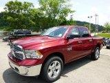 2014 Deep Cherry Red Crystal Pearl Ram 1500 Big Horn Crew Cab 4x4 #94639284