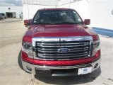 2014 Ruby Red Ford F150 Lariat SuperCrew #94679123