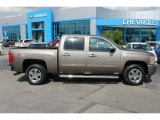2013 Mocha Steel Metallic Chevrolet Silverado 1500 LTZ Crew Cab 4x4 #94679097