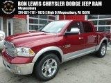 2014 Deep Cherry Red Crystal Pearl Ram 1500 Laramie Crew Cab 4x4 #94696420