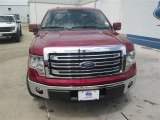 2014 Ruby Red Ford F150 Lariat SuperCrew #94696375
