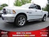 2014 Bright White Ram 1500 Big Horn Crew Cab #94701439