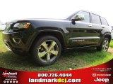 2014 Brilliant Black Crystal Pearl Jeep Grand Cherokee Overland #94701420