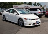 2007 Taffeta White Honda Civic Si Coupe #94701476