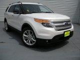 2014 White Platinum Ford Explorer XLT #94701535