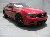 2014 Ruby Red Ford Mustang V6 Coupe #94701531