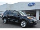 2014 Tuxedo Black Ford Explorer XLT #94701449