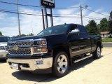 2014 Black Chevrolet Silverado 1500 LTZ Crew Cab 4x4 #94729659