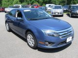 2010 Sport Blue Metallic Ford Fusion SE V6 #94729996