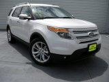 2014 White Platinum Ford Explorer Limited #94729715
