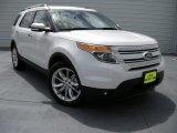 2014 White Platinum Ford Explorer Limited #94729715