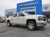 2014 White Diamond Tricoat Chevrolet Silverado 1500 LT Crew Cab #94729770