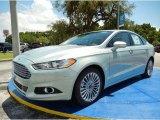 2014 Ice Storm Ford Fusion Hybrid Titanium #94772840