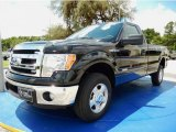 2014 Tuxedo Black Ford F150 XLT Regular Cab 4x4 #94772838
