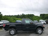 2014 Tuxedo Black Ford F150 XLT Regular Cab 4x4 #94772768