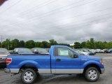 2014 Blue Flame Ford F150 XLT Regular Cab #94772767
