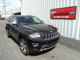 2014 Brilliant Black Crystal Pearl Jeep Grand Cherokee Overland 4x4 #94773179