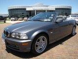 2002 Steel Grey Metallic BMW 3 Series 330i Convertible #9477156