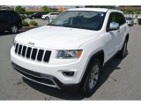 2014 Bright White Jeep Grand Cherokee Limited #94773093
