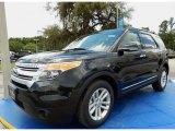 2014 Tuxedo Black Ford Explorer XLT #94772849