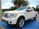 2014 White Platinum Ford F150 Limited SuperCrew 4x4 #94807158