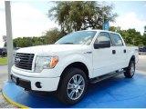 2014 Oxford White Ford F150 STX SuperCrew 4x4 #94807155