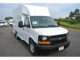 2014 Summit White Chevrolet Express Cutaway 3500 Moving Van #94807516