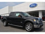 2014 Tuxedo Black Ford F150 Lariat SuperCrew 4x4 #94807223