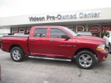2012 Deep Cherry Red Crystal Pearl Dodge Ram 1500 ST Crew Cab 4x4 #94807696