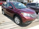 2012 Basque Red Pearl II Honda CR-V EX 4WD #94807682