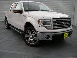 2014 White Platinum Ford F150 Lariat SuperCrew 4x4 #94807325