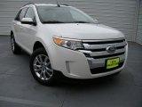 2014 White Platinum Ford Edge SEL #94807323