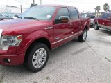 2014 Ruby Red Ford F150 Platinum SuperCrew 4x4 #94807089