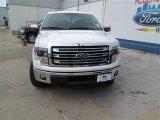 2014 White Platinum Ford F150 Lariat SuperCrew 4x4 #94807088